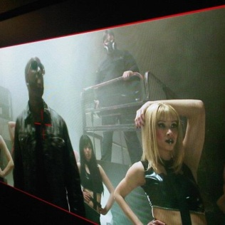Music Video shot