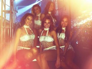Backstage Pitbull's 2013 NYE Concert