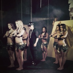 """Shot from Set for Yandel's - """"Plakito"""" Music Video"""