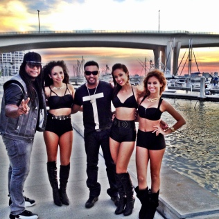 Performance in Tampa with Zion y Lennox