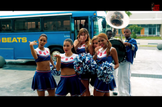Screenshot from Timati Ft. FloRida Video