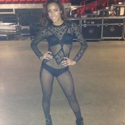 Backstage 2014 Pitbull Concert