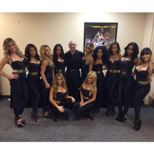 Microsoft Perfomance with Pitbull in ATL